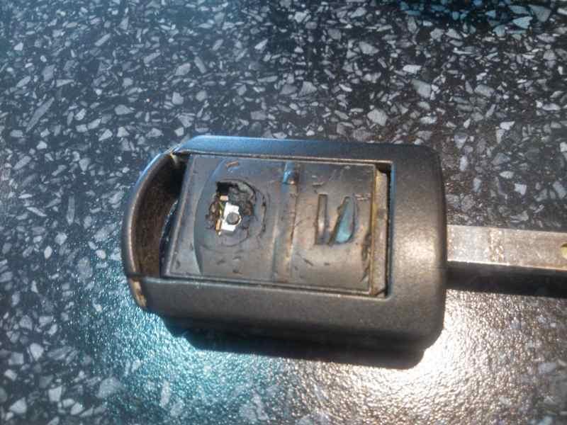 opel corsa c klíč po 10 letech používání